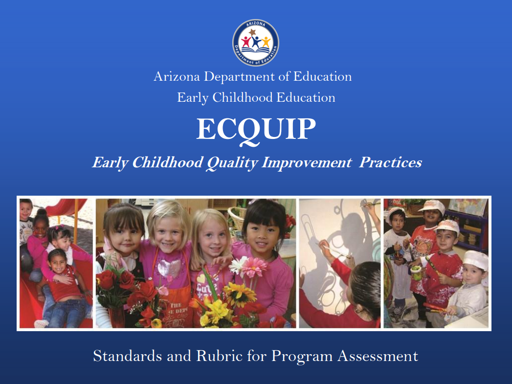 Early Childhood Quality Improvement Plan Manual