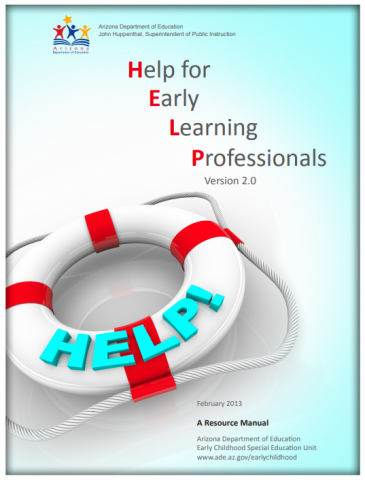 Help for Early Learning Professionals HELP Manual